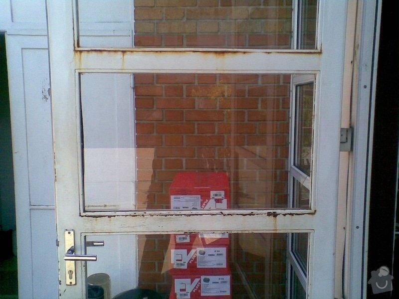 Opravu skleněných výplní: kovove_dvere