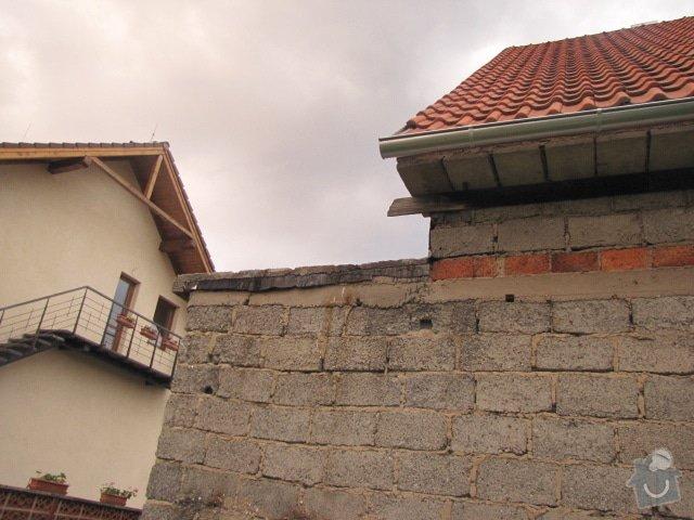 Oplechování střechy: IMG_7370