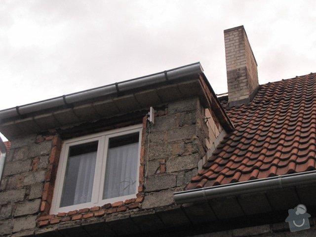 Oplechování střechy: IMG_7374