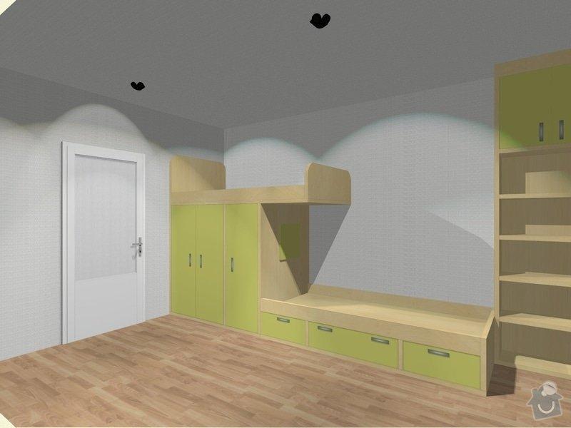 Nábytek do dětského pokoje: K_G_Detsky_pokoj_1