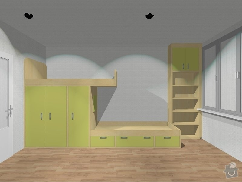 Nábytek do dětského pokoje: KG_Detsky_pokoj
