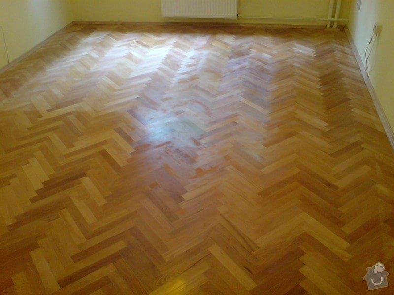 Vyrovnani podlahy (parkety) a polozeni plovouci podlahy: DSC01917