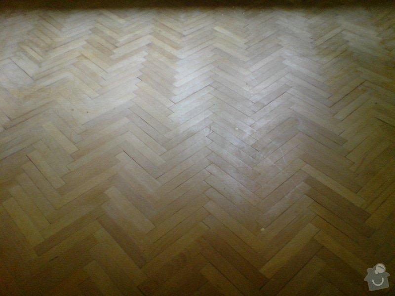 Vyrovnani podlahy (parkety) a polozeni plovouci podlahy: DSC01912