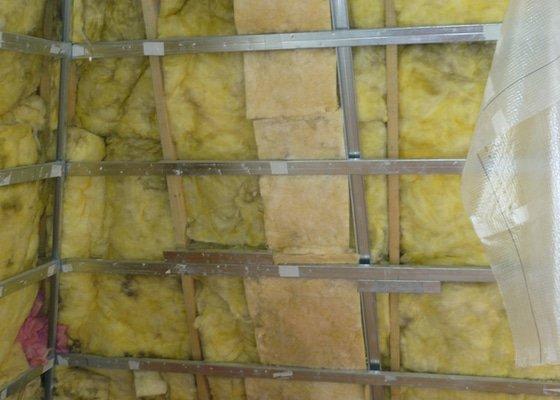 Oprava tepelné izolace v podkrovném bytě