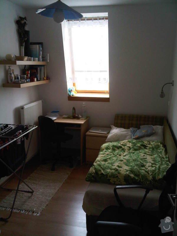 Oprava tepelné izolace v podkrovném bytě: Mala_loznice
