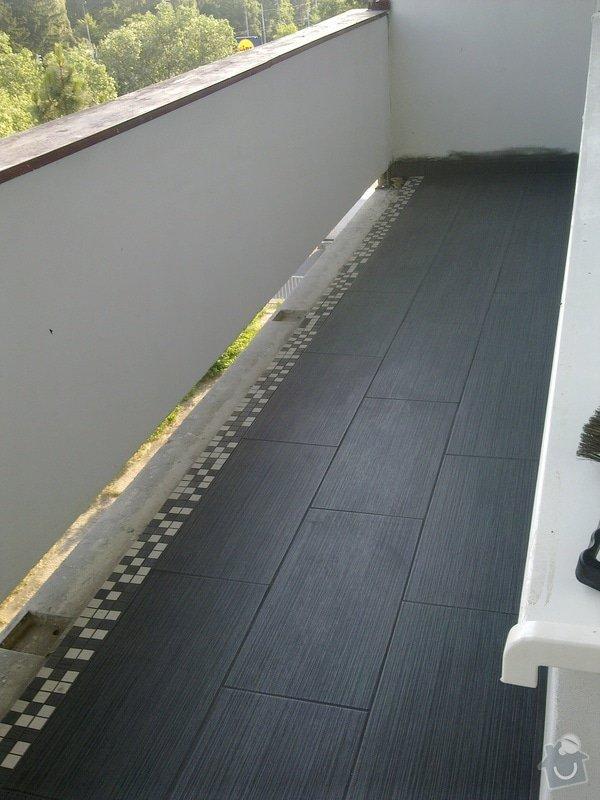 Dlažba na balkoně: 05062011104