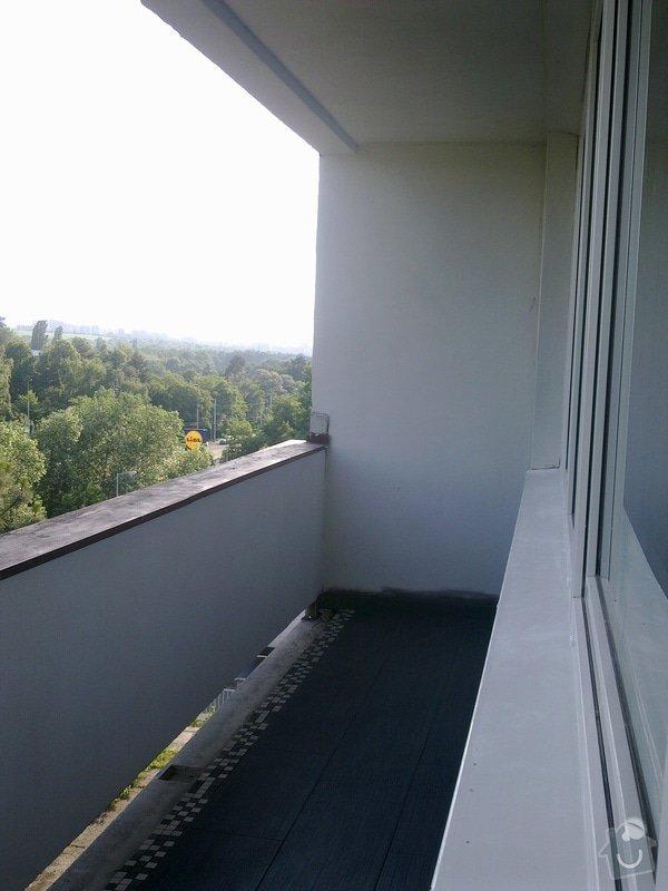 Dlažba na balkoně: 05062011105