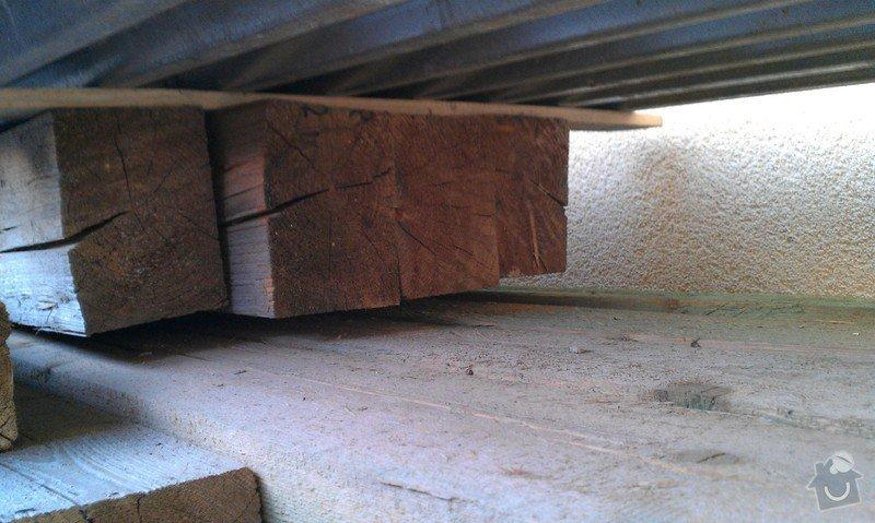 Stavba pergoly - zastřešeného posezení: Drevo_I_1_