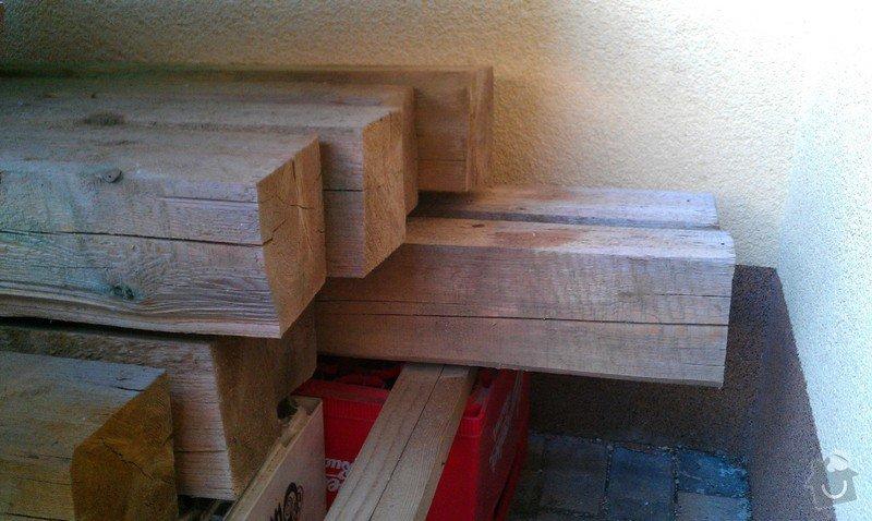 Stavba pergoly - zastřešeného posezení: Drevo_II_1_