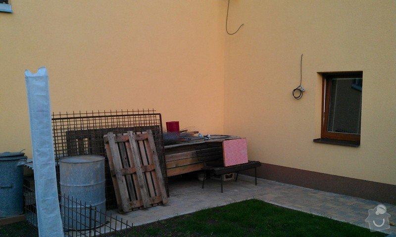 Stavba pergoly - zastřešeného posezení: Prostor_stavby_pergoly_1_