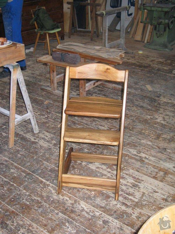 Dětská stavitelná židle: 101_0118