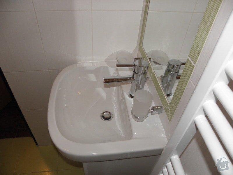 Rekonstrukce koupelny a výroba kuchyně: P6046806