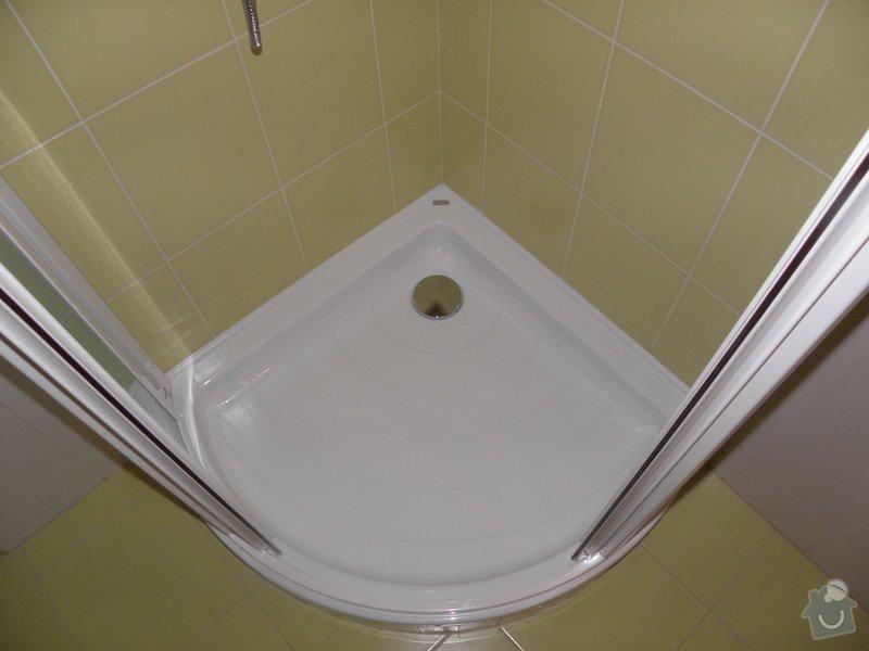 Rekonstrukce koupelny a výroba kuchyně: P6046811