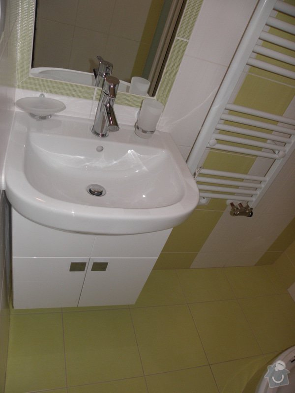 Rekonstrukce koupelny a výroba kuchyně: P6046795