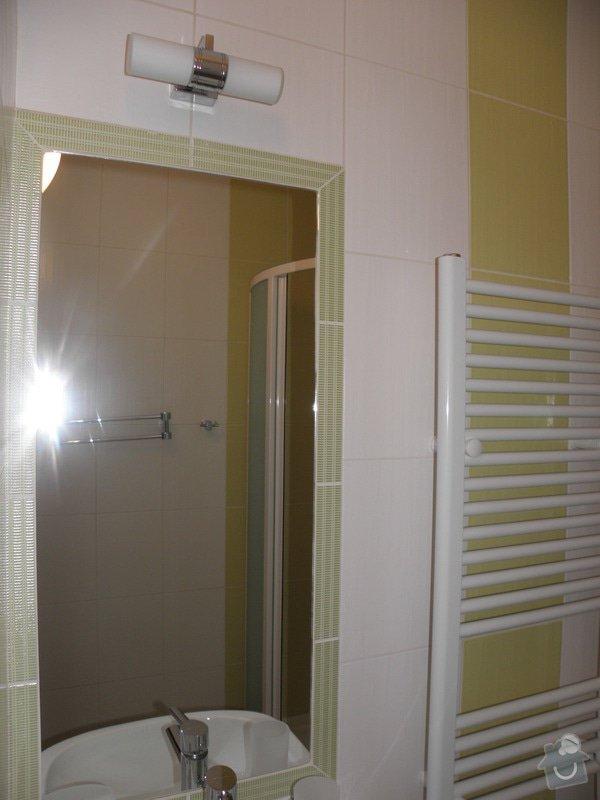Rekonstrukce koupelny a výroba kuchyně: P6046796