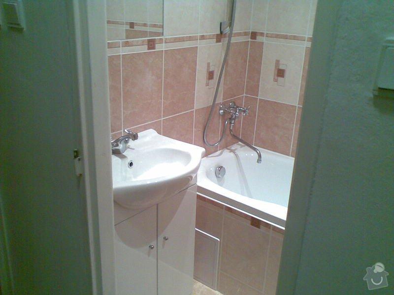 Rekonstrukce koupelny: 08062011