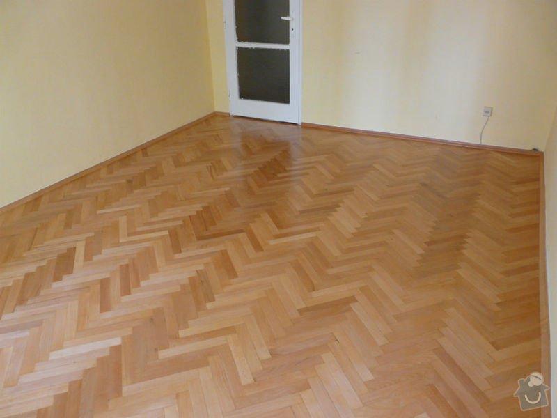 Vyrovnani podlahy (parkety) a polozeni plovouci podlahy: po4
