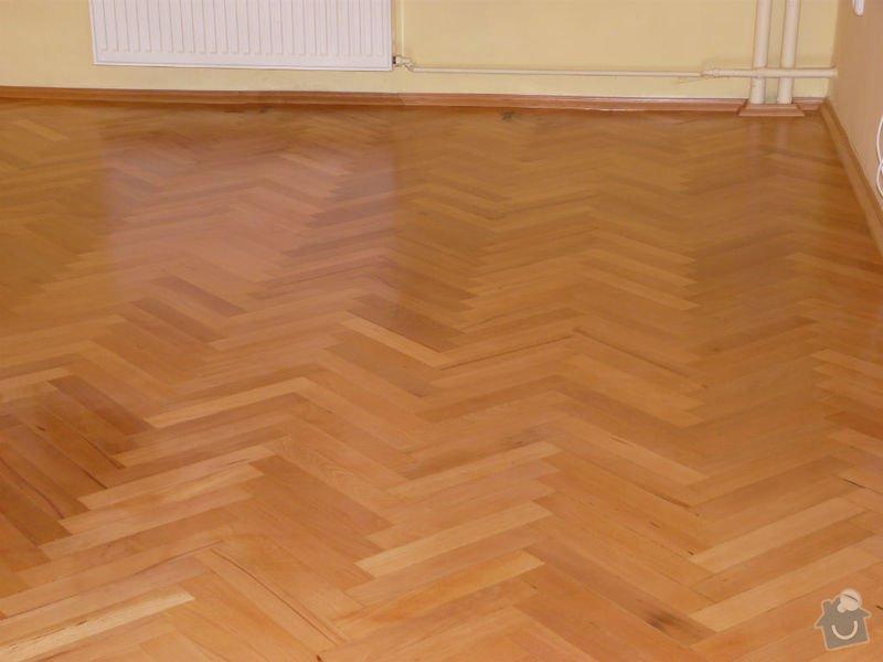 Vyrovnani podlahy (parkety) a polozeni plovouci podlahy: po1