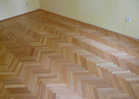Vyrovnani podlahy (parkety) a polozeni plovouci podlahy