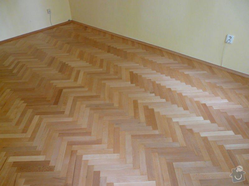 Vyrovnani podlahy (parkety) a polozeni plovouci podlahy: po3