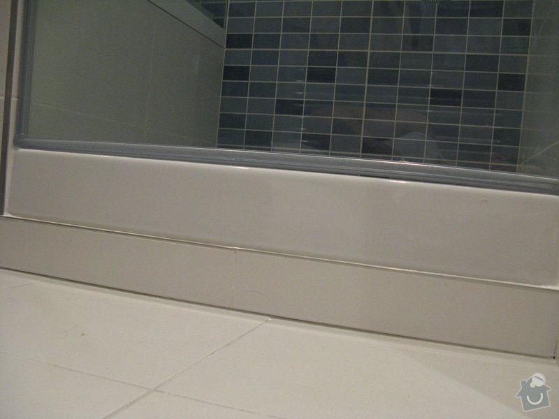 Zasklení sprchového koutu do niky: druhe_predani1