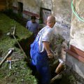Izolace podurovni terenu domu v cetne zbourani stareho odpadu foto 0024