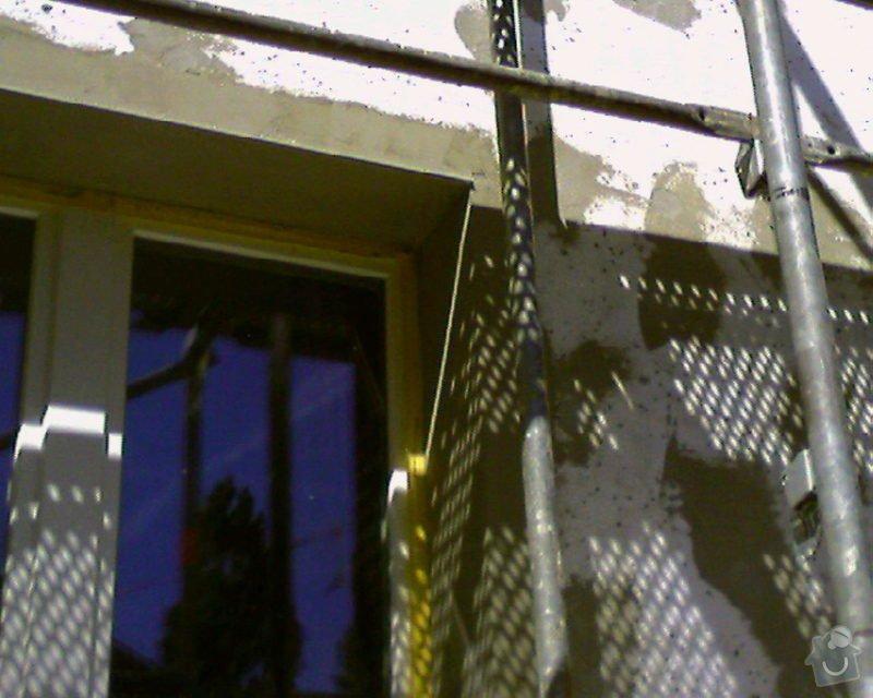 Povrchové úpravy fasád včetně zateplení obvodového pláště budov podle tech.postupu Mystrál,Baumit,polyst,vata: Foto-0014