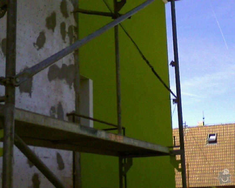 Povrchové úpravy fasád včetně zateplení obvodového pláště budov podle tech.postupu Mystrál,Baumit,polyst,vata: Foto-0016