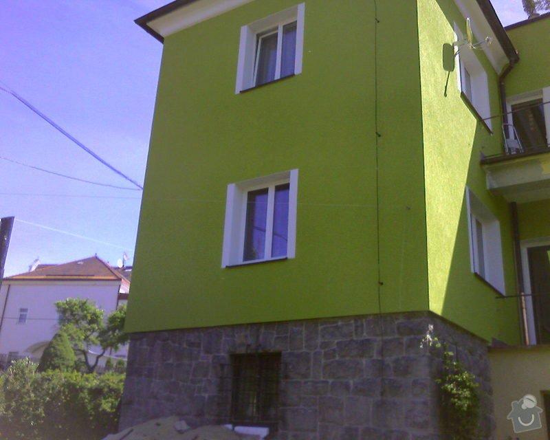 Povrchové úpravy fasád včetně zateplení obvodového pláště budov podle tech.postupu Mystrál,Baumit,polyst,vata: Foto-0020