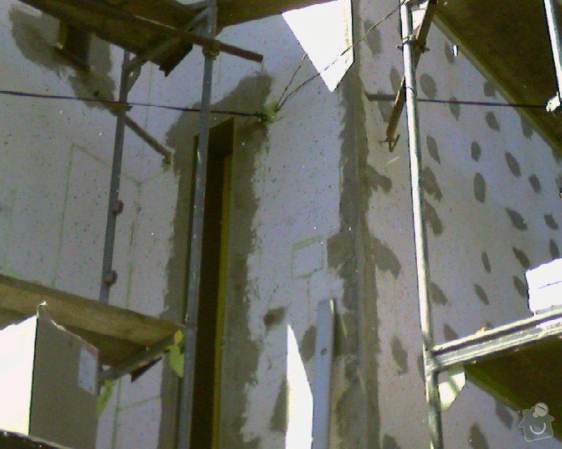 Povrchové úpravy fasád včetně zateplení obvodového pláště budov podle tech.postupu Mystrál,Baumit,polyst,vata: Foto-0015
