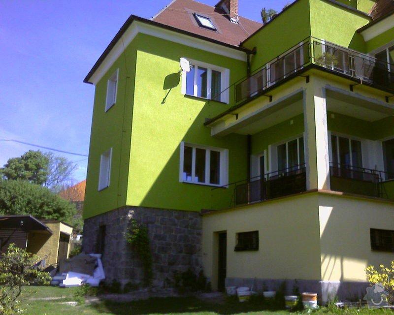 Povrchové úpravy fasád včetně zateplení obvodového pláště budov podle tech.postupu Mystrál,Baumit,polyst,vata: Foto-0022