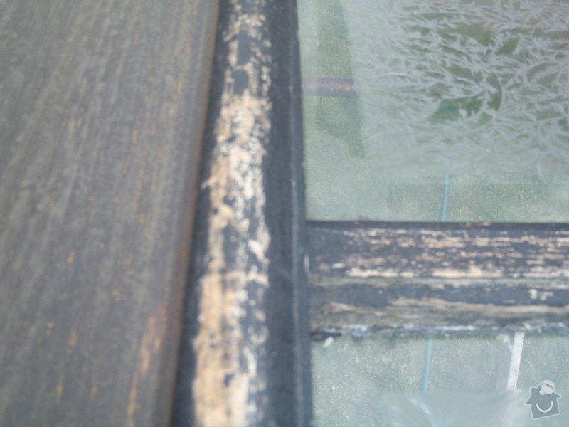 Renovace vstupních dveří.: P6110226