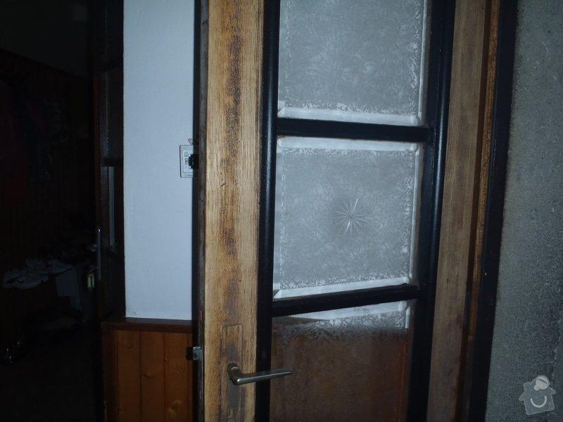 Renovace vstupních dveří.: P6110235
