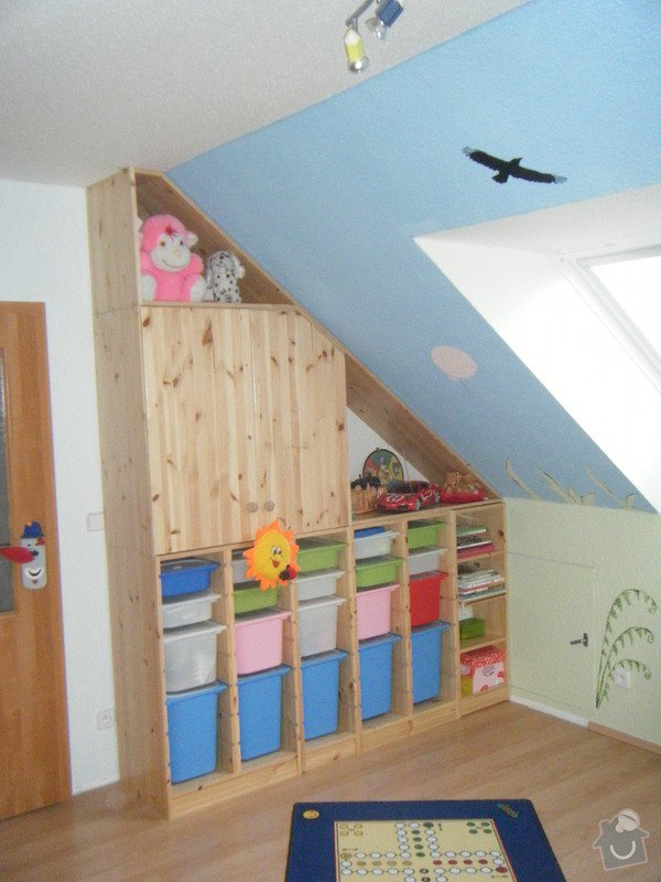 Výroba nábytku do dětského pokoje: pok_065