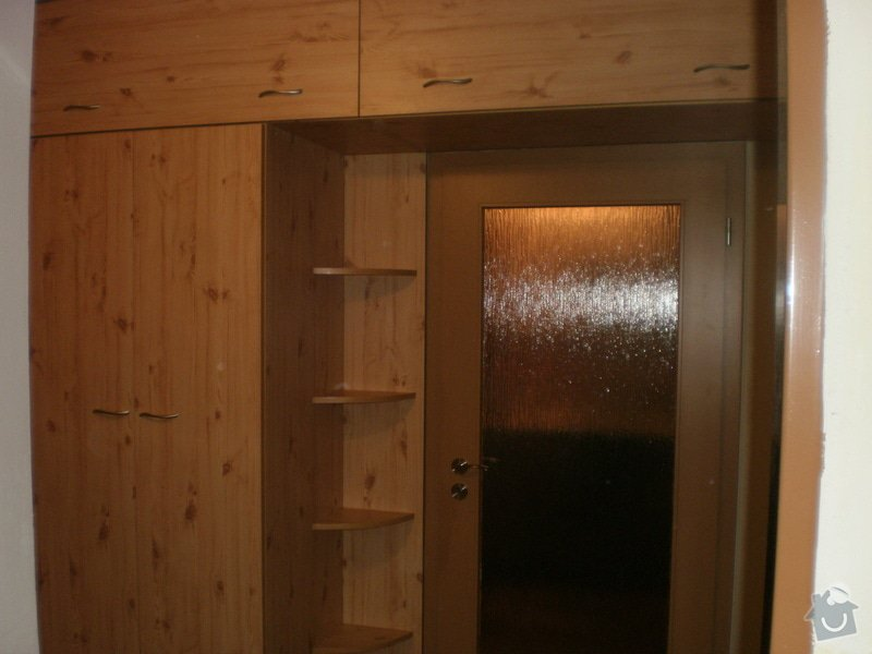 Výroba nábytkové stěny do chodby: 002