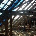 Predmetem zakazky bylo kompletni zhotoveni noveho krovu dle p s6303601