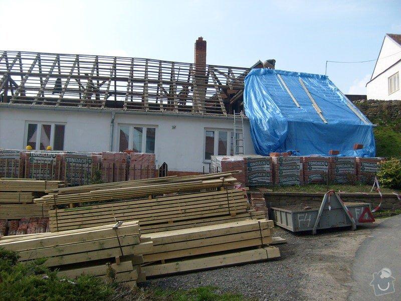 Předmětem zakázky bylo kompletní zhotovení nového krovu dle projektu.: S6303603