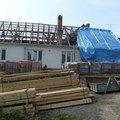Predmetem zakazky bylo kompletni zhotoveni noveho krovu dle p s6303603