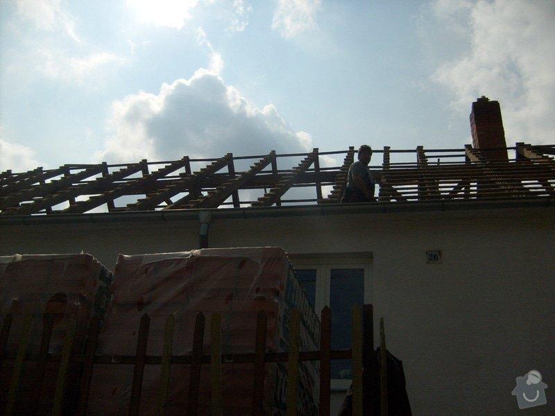 Předmětem zakázky bylo kompletní zhotovení nového krovu dle projektu.: S6303610