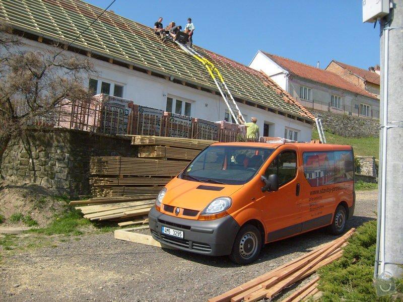 Předmětem zakázky bylo kompletní zhotovení nového krovu dle projektu.: S6303806