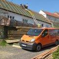 Predmetem zakazky bylo kompletni zhotoveni noveho krovu dle p s6303806