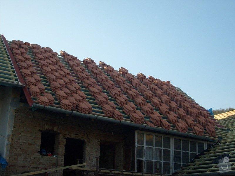 Předmětem zakázky bylo kompletní zhotovení nového krovu dle projektu.: S6303812