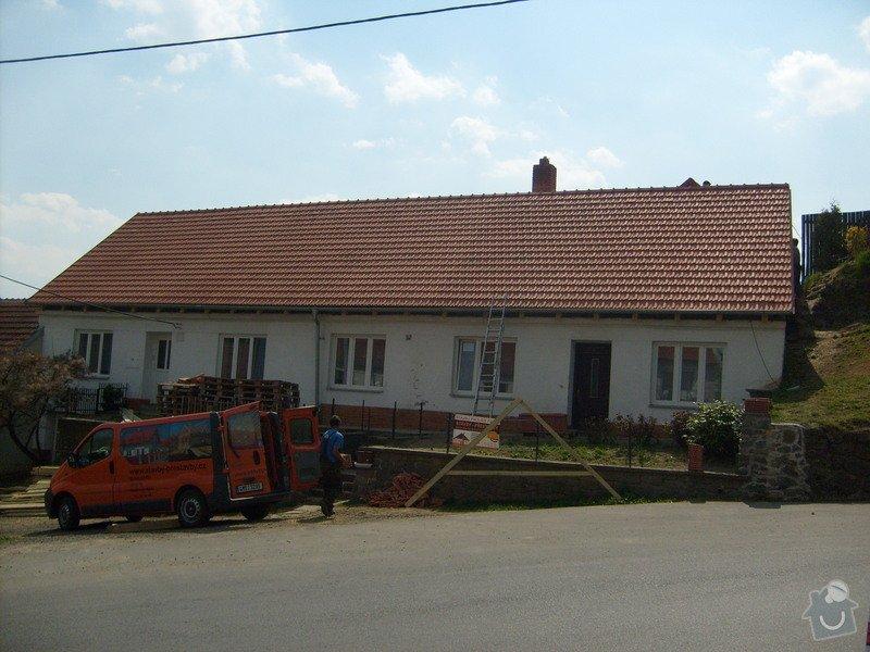 Předmětem zakázky bylo kompletní zhotovení nového krovu dle projektu.: S6303840