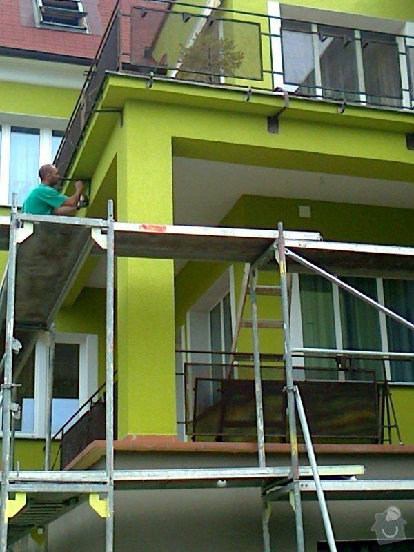 Povrchové úpravy fasád včetně zateplení obvodového pláště budov podle tech.postupu Mystrál,Baumit,polyst,vata: Fotografie0051