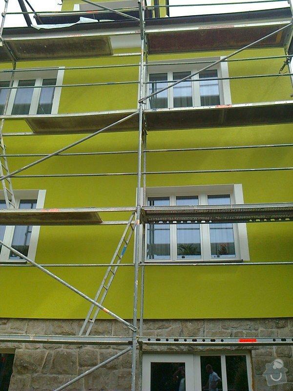 Povrchové úpravy fasád včetně zateplení obvodového pláště budov podle tech.postupu Mystrál,Baumit,polyst,vata: Fotografie0048