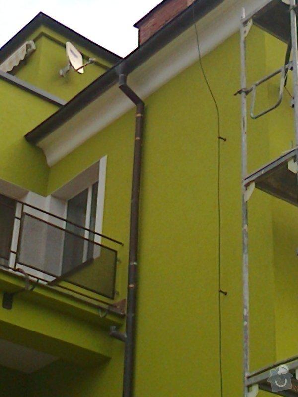 Povrchové úpravy fasád včetně zateplení obvodového pláště budov podle tech.postupu Mystrál,Baumit,polyst,vata: Fotografie0052