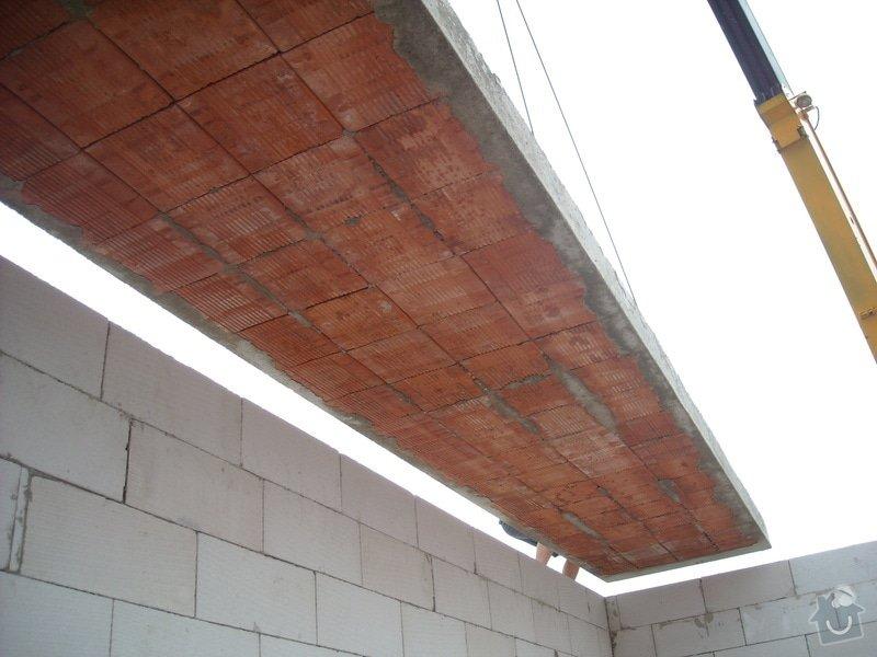 Výroba stropních panelů + montáž: sn_mek_058