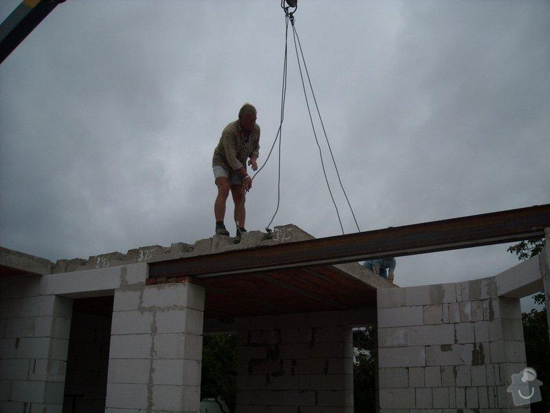 Výroba stropních panelů + montáž: sn_mek_082