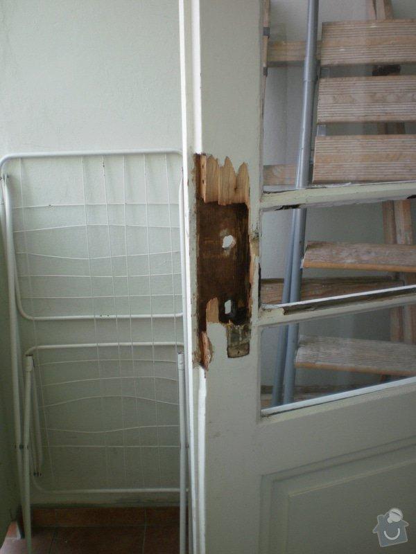 Oprava a renovace dveří: 040