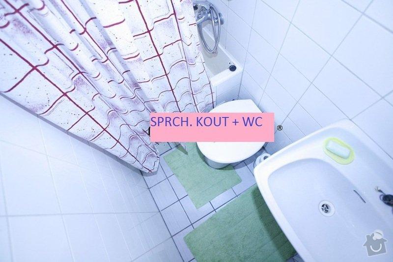 Výměnu vaničky ve sprch. koutě za dlažbu/kachlíky: 1_SZ_sprch._kout_WC